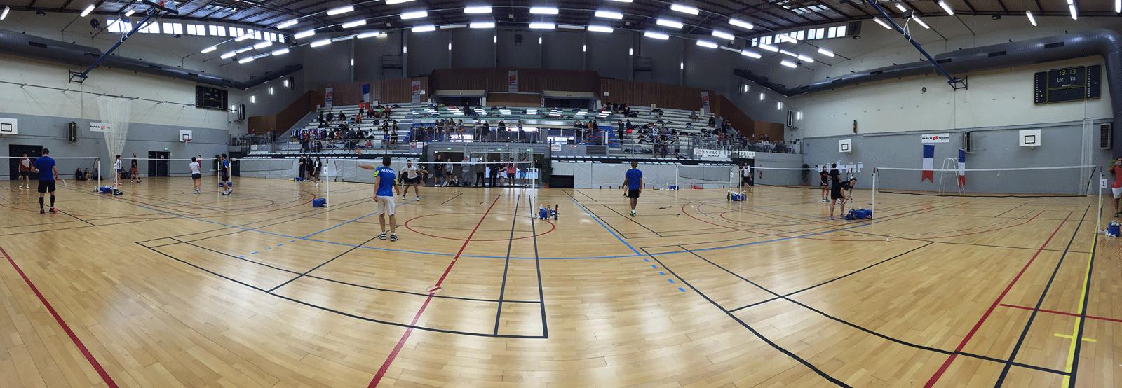 Notre salle pour le tournoi